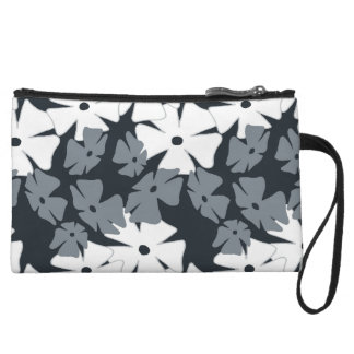 Thumbergina Cool Gray Wristlet Clutch