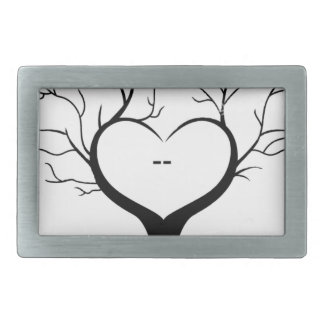 Thumbprint Tree Belt Buckle