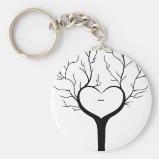 Thumbprint Tree Key Ring