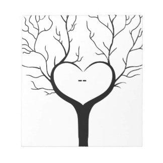 Thumbprint Tree Notepad