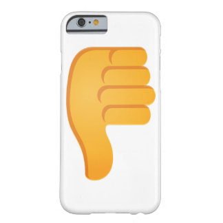 Thumbs Down Emoji Barely There iPhone 6 Case