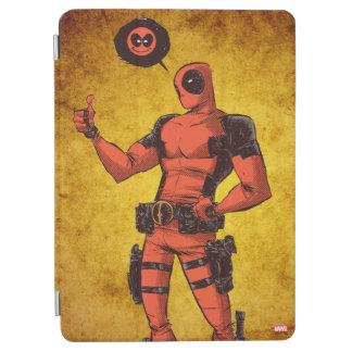 Thumbs Up Deadpool With Emote iPad Air Cover