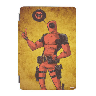 Thumbs Up Deadpool With Emote iPad Mini Cover