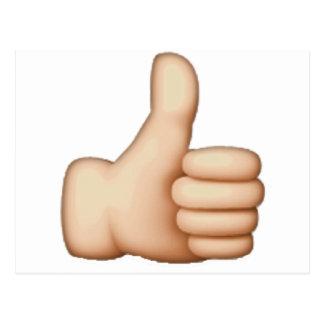Thumbs Up - Emoji Postcard