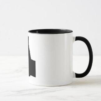 Thumbs Up Gesture, White Back Mug