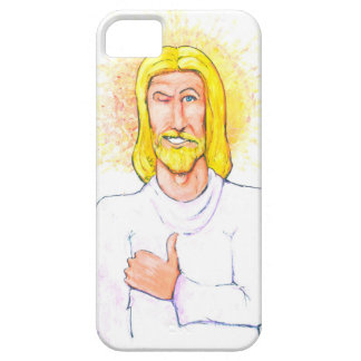 Thumbs up Jesus Barely There iPhone 5 Case