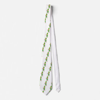 Thumbs Up Leprechaun St Patricks Day Character Tie