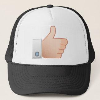 Thumbs Up Like Trucker Hat