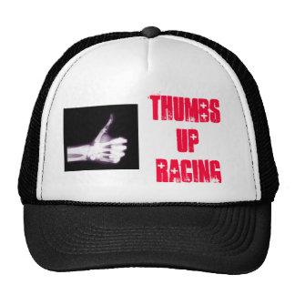 Thumbs Up Racing Black Trucker Hat