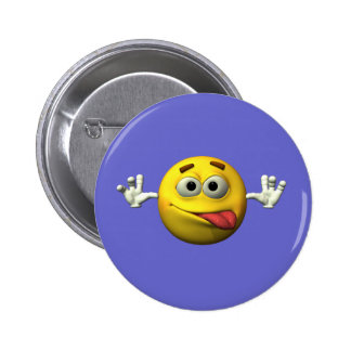 Thumbs Up Smiley Face character 6 Cm Round Badge
