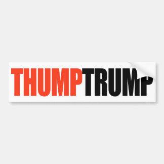 THUMP TRUMP - BUMPER STICKER