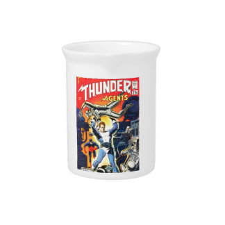 Thunder Agents Pitcher