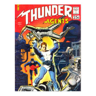 Thunder Agents Postcard