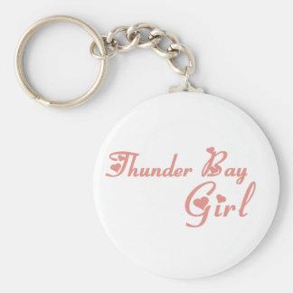Thunder Bay Girl Key Ring
