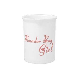 Thunder Bay Girl Pitcher