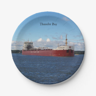 Thunder Bay paper plate