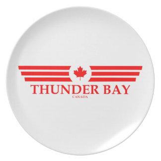 THUNDER BAY PLATE