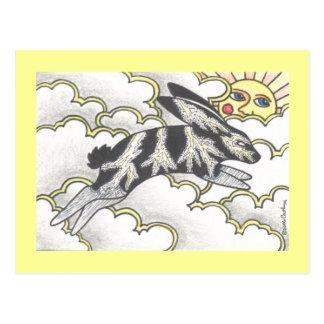 Thunder Bunny Postcard