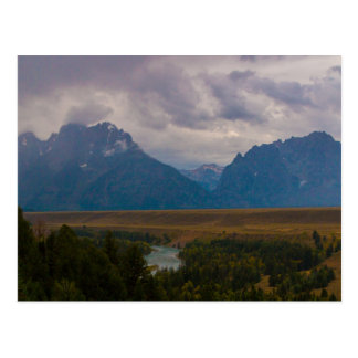 Thunder in the Tetons Postcard