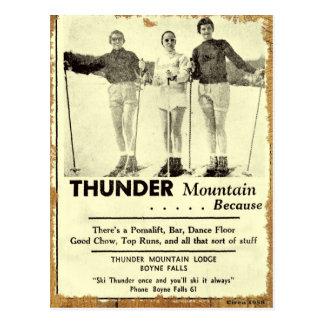 Thunder Mountain Postcard