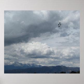 Thunder Over the Peak Poster