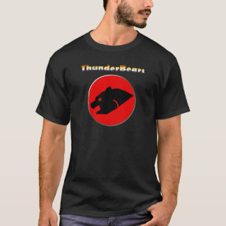 Thunderbear Bear Pride Colours Gay Bear T-Shirt
