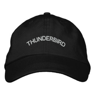 THUNDERBIRD EMBROIDERED BASEBALL CAP