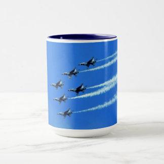 Thunderbird Jets (Six) Flyby Mug