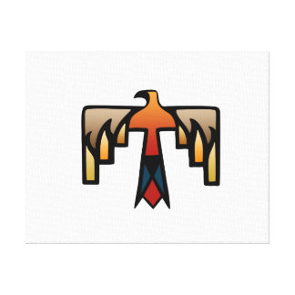 Thunderbird - Native American Indian Symbol Canvas Print