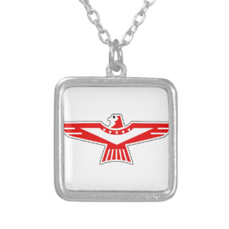 Thunderbird Silver Plated Necklace