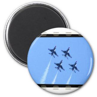 thunderbirds magnet