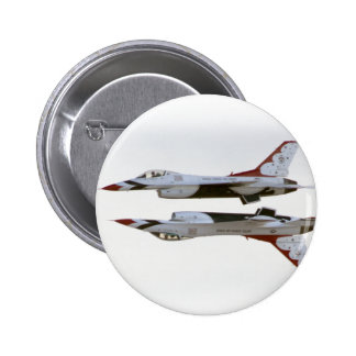 Thunderbirds Maneuver - Mirror 6 Cm Round Badge