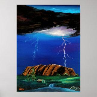 Thunderbolt of ururu poster