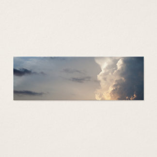 Thunderhead Cloud Heaven Sky Storm Clouds Mini Business Card