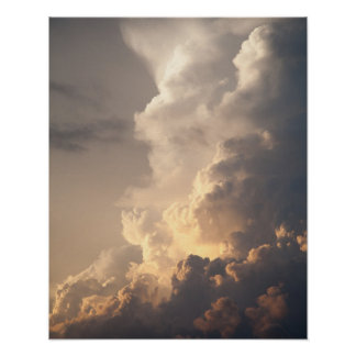 Thunderhead Cloud Heaven Sky Storm Clouds Poster