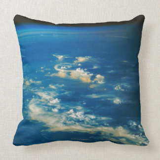 Thunderstorm Clouds Throw Pillow