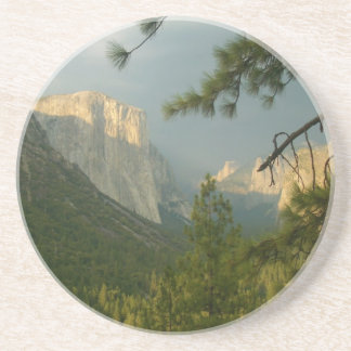 Thunderstorm over Yosemite Valley Drink Coaster