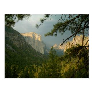 Thunderstorm over Yosemite Valley Postcard