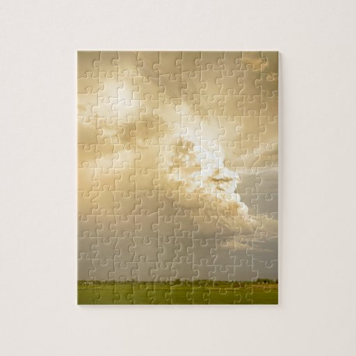 Thunderstorm Rears Ugly Head Jigsaw Puzzles