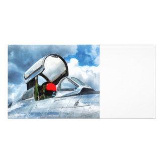 Thunderstreak Turbojet Cockpit Photo Cards