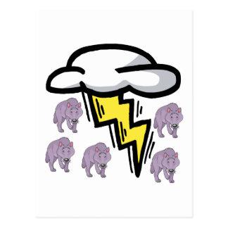 Thunderwolves Postcard