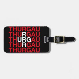 THURGAU LUGGAGE TAG