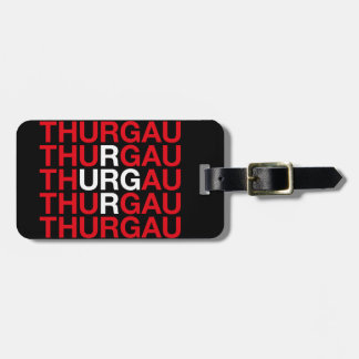 THURGAU LUGGAGE TAG