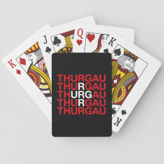 THURGAU PLAYING CARDS
