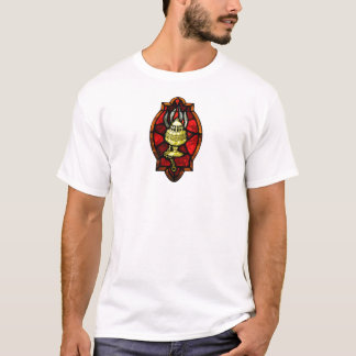 Thurible Stained Glass Window Art T-Shirt