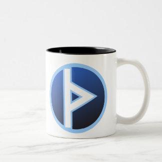 Thurisaz Thurs Thorn Rune Two-Tone Coffee Mug