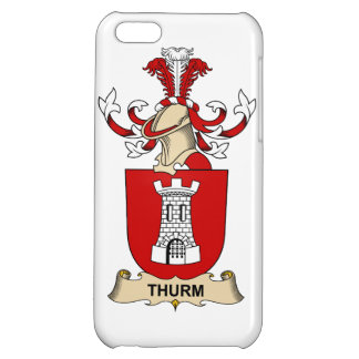Thurm Family Crest Case For iPhone 5C