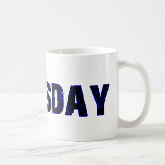 Thursday Day of the Week Merchandise Mugs
