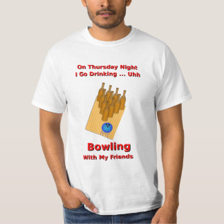 Thursday Night Beer Bowler T-Shirt