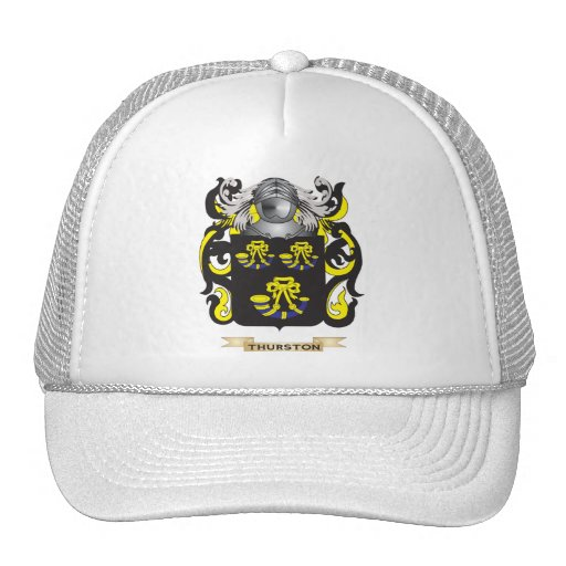 Thurston Family Crest (Coat of Arms) Hat